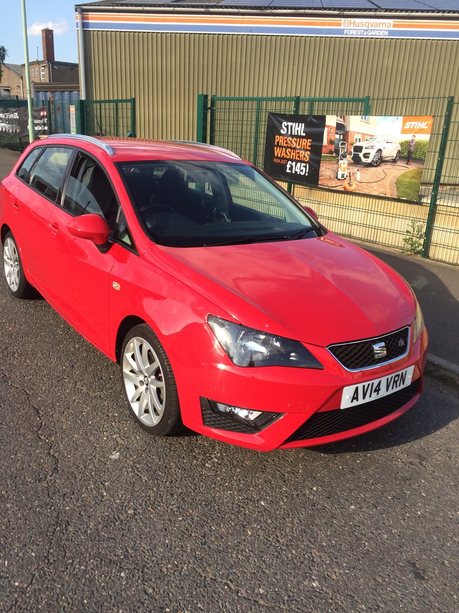 2014 Seat Ibiza FR 1600 TDI sports Tourer For Sale (picture 2 of 6)