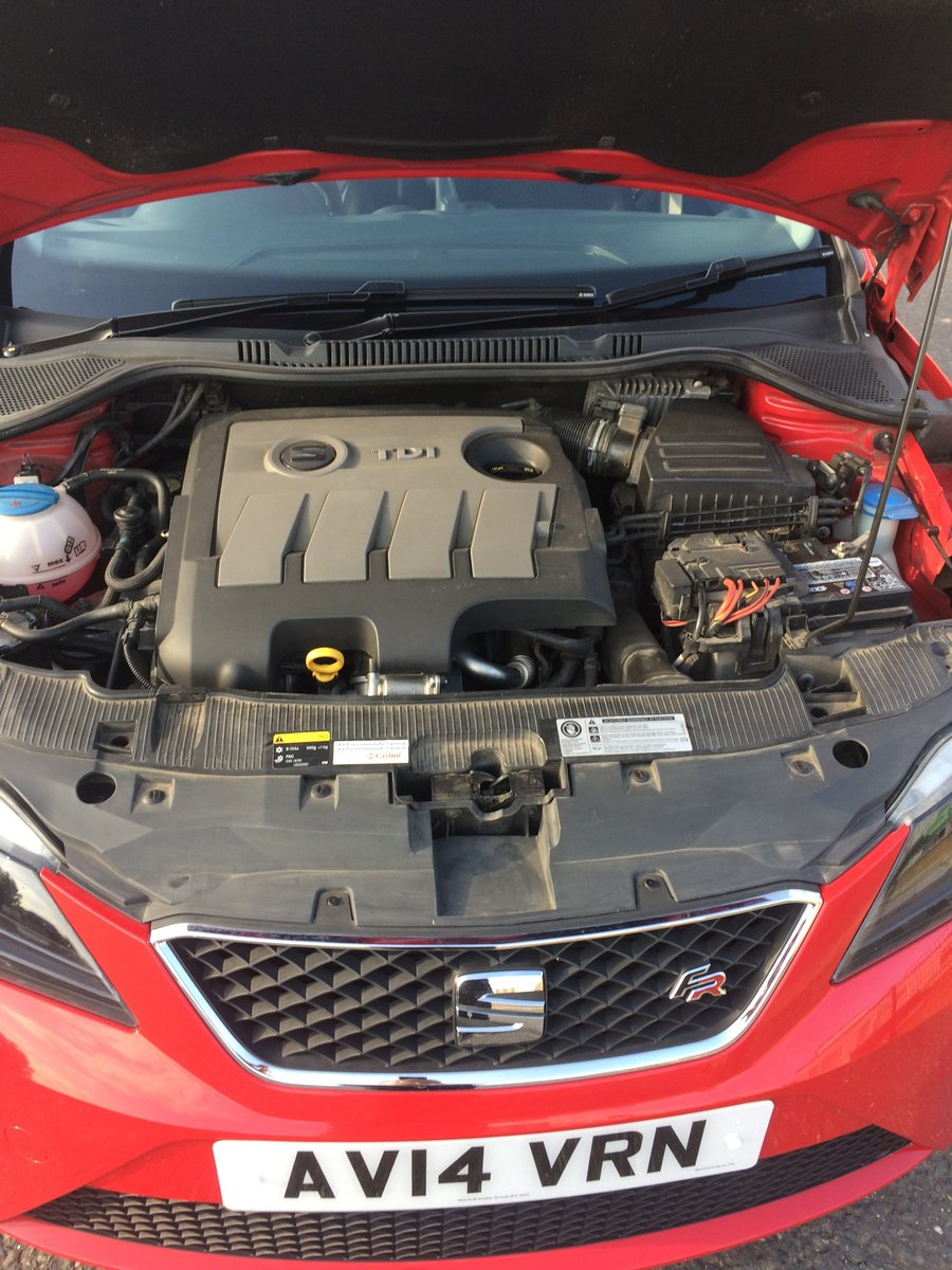 2014 Seat Ibiza FR 1600 TDI sports Tourer For Sale (picture 4 of 6)