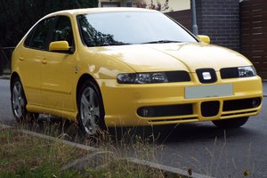 2002 Seat Leon Cupra 4 - only UK Reg Cupra 4
