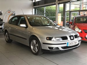 2002 Ultra Rare Seat Toledo 2.3 V5 with only 41,369 miles
