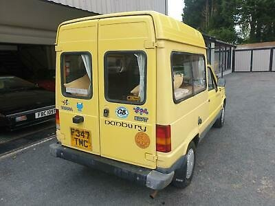 1989 SEAT TERRA DENBY CAMPERVAN MOTORHOME 4,500 MILES FROM N For Sale (picture 2 of 6)