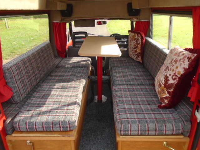 1991 Seat Terra Danbury Chico Camper. 44K miles.  For Sale (picture 3 of 6)