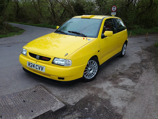 1998 Seat ibiza rally/recce car lhd ex-factory  For Sale (picture 1 of 5)