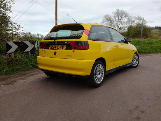 1998 Seat ibiza rally/recce car lhd ex-factory  For Sale (picture 2 of 5)