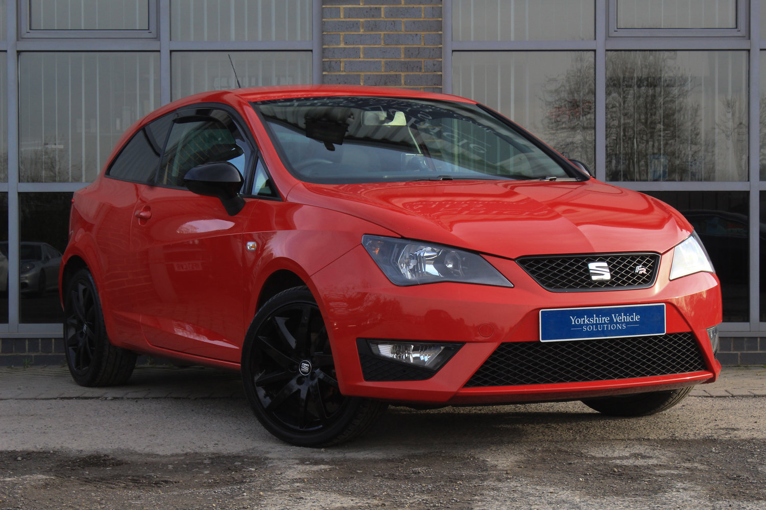 2015 15 SEAT IBIZA 1.2 TSI FR BLACK  For Sale (picture 1 of 6)