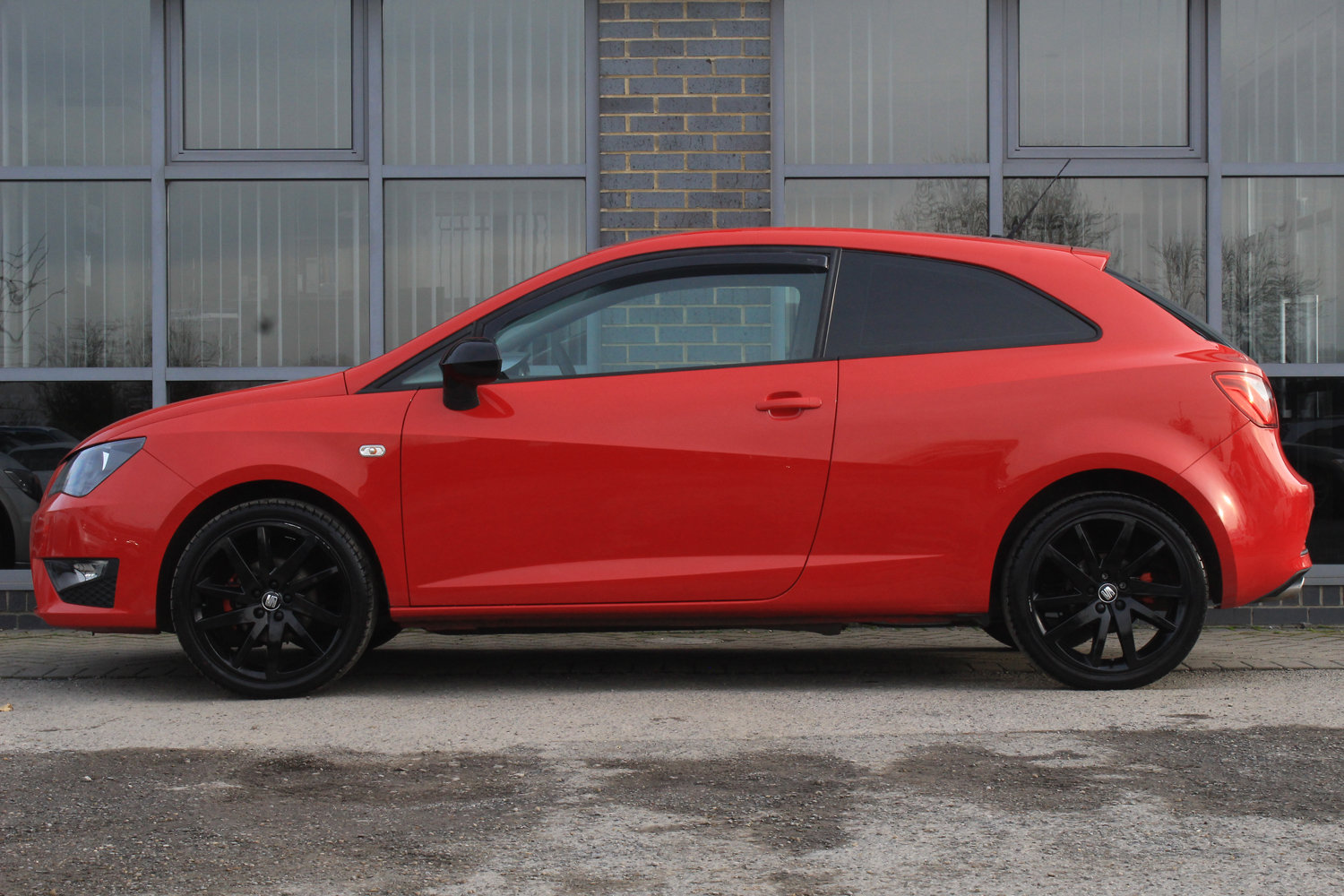 2015 15 SEAT IBIZA 1.2 TSI FR BLACK  For Sale (picture 2 of 6)
