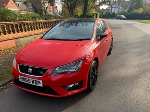 2016 Seat Leon 1.4 Tsi FR Black Technology Edition