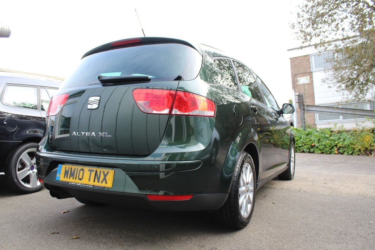 2010 LOVELY SEAT ALEA XL 2.0 TDI SE SOLD (picture 4 of 6)