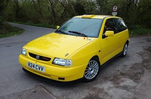 1998 Seat Ibiza Cupra GTi 16V Rally/Recce car For Sale by Au For Sale by Auction