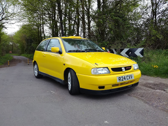 1998 Seat Ibiza Cupra GTi 16V Rally/Recce car For Sale by Au For Sale by Auction (picture 2 of 6)