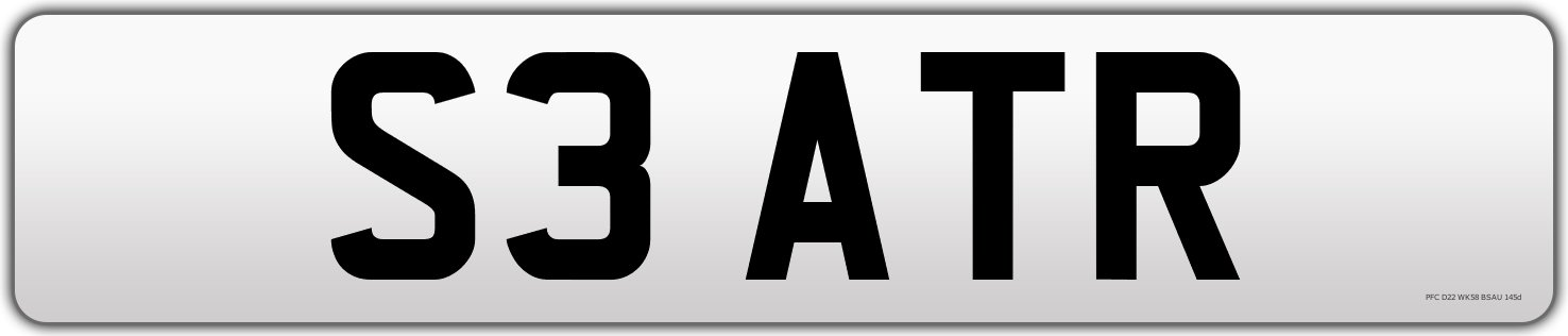 1998 S3 ATR Cherished Number Plate For Sale (picture 2 of 2)
