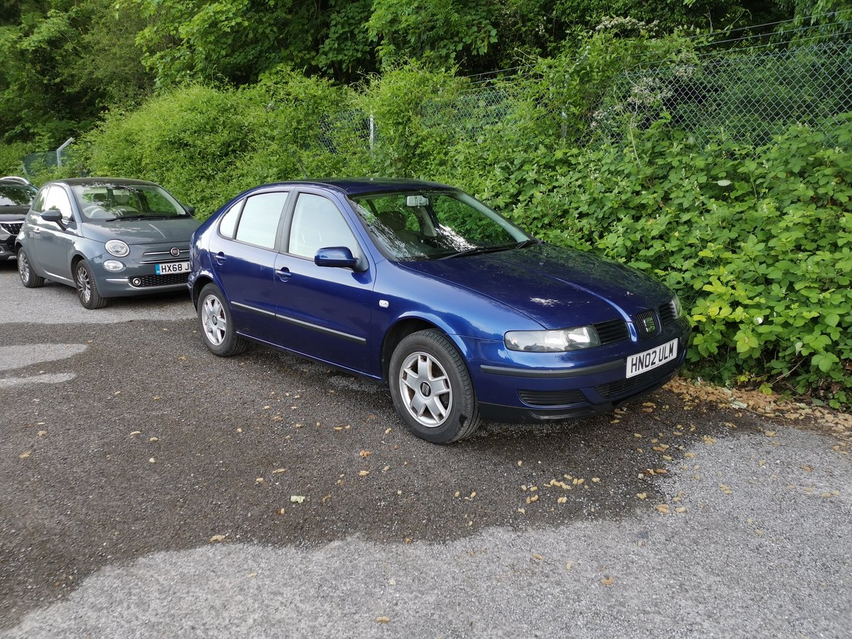 2002 Seat Leon 1.6 petrol, one previous owner For Sale (picture 1 of 6)