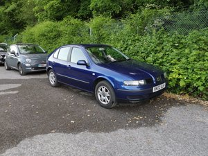 2002 Seat Leon 1.6 petrol, one previous owner