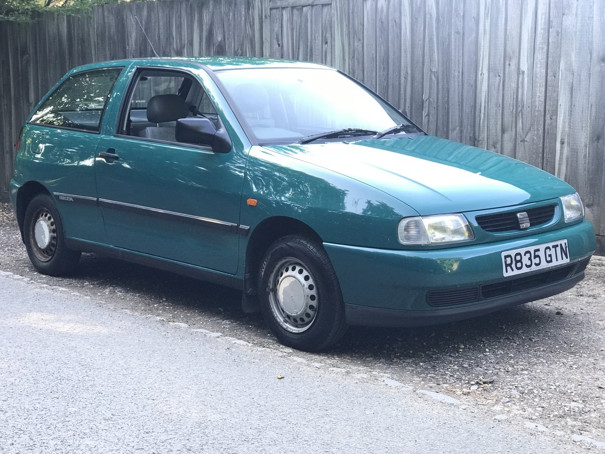 1997 Seat Ibiza 1.0 only 21k miles from new! 1 Owner! For Sale (picture 1 of 6)