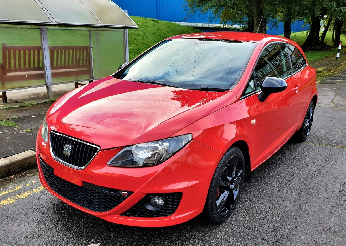 2011 Seat Ibiza 1.4 Sportrider FR looks, Mot Sept 2021 For Sale (picture 1 of 6)
