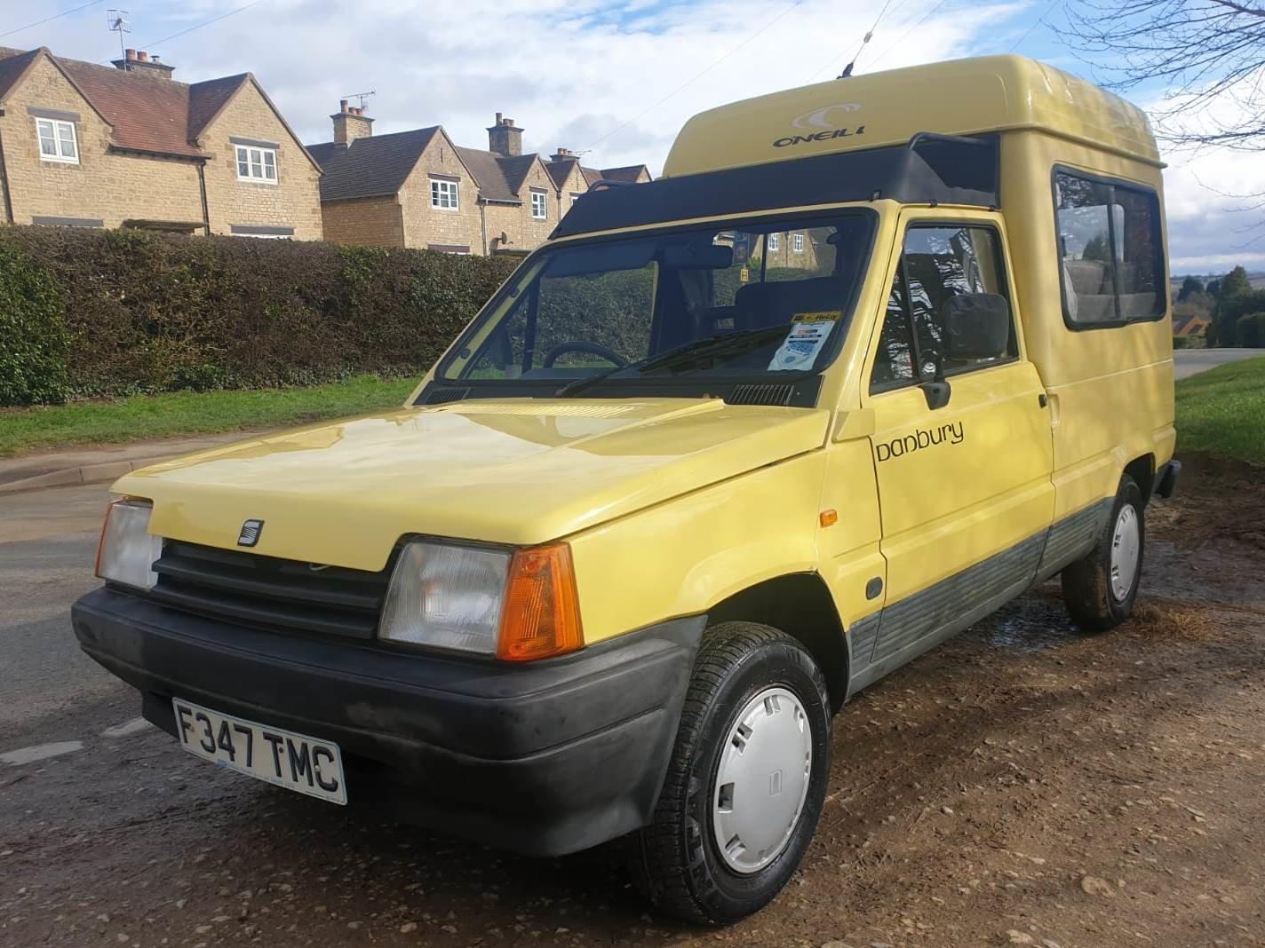 1989 Rare Seat Terra Danbury Campervan For Sale (picture 1 of 6)
