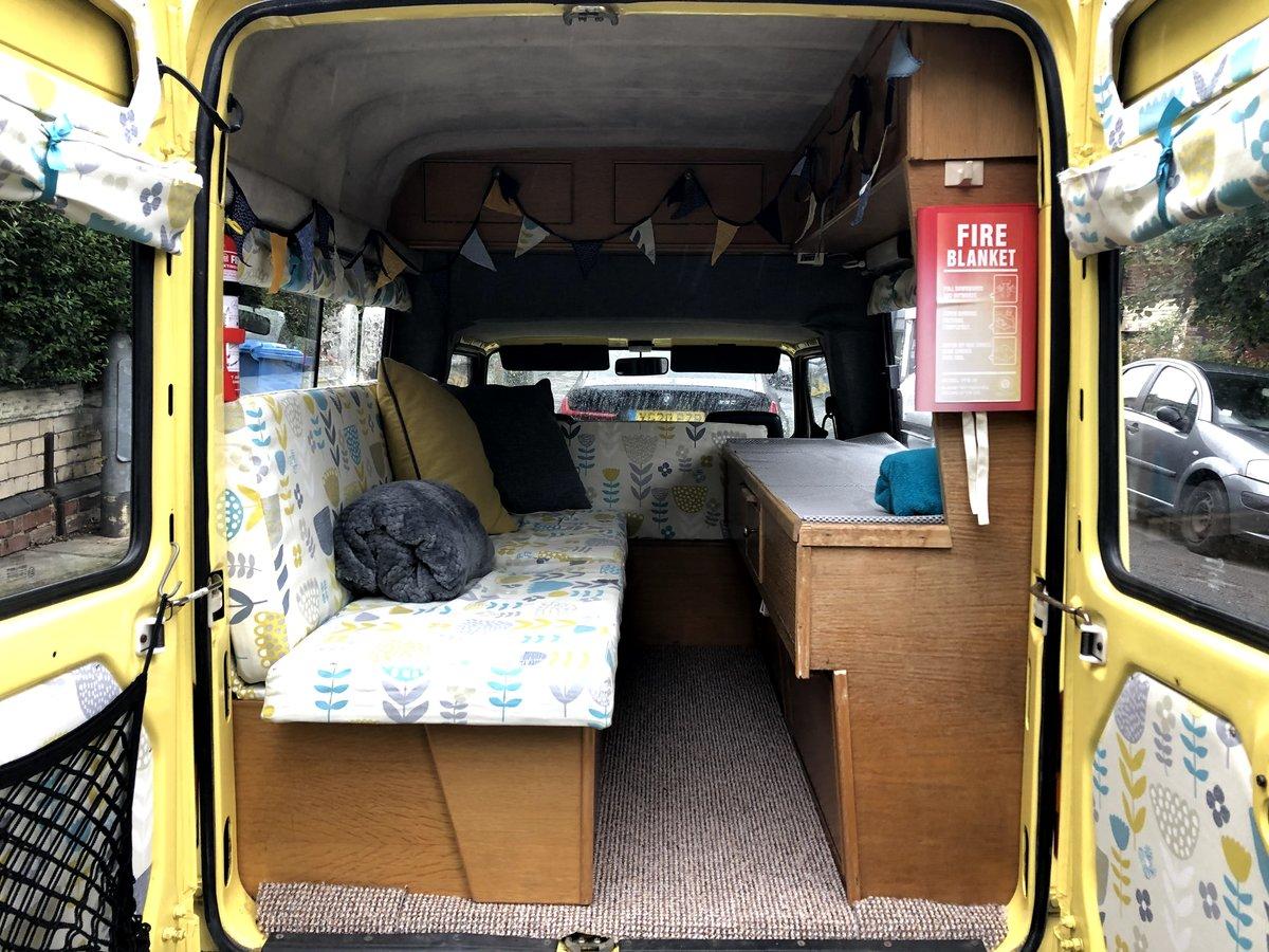 1989 Rare Seat Terra Danbury Campervan For Sale (picture 2 of 6)