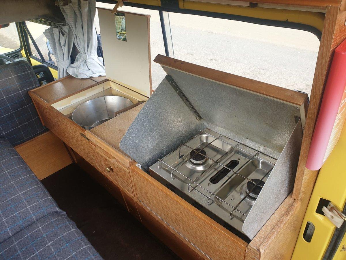 1989 Rare Seat Terra Danbury Campervan For Sale (picture 5 of 6)