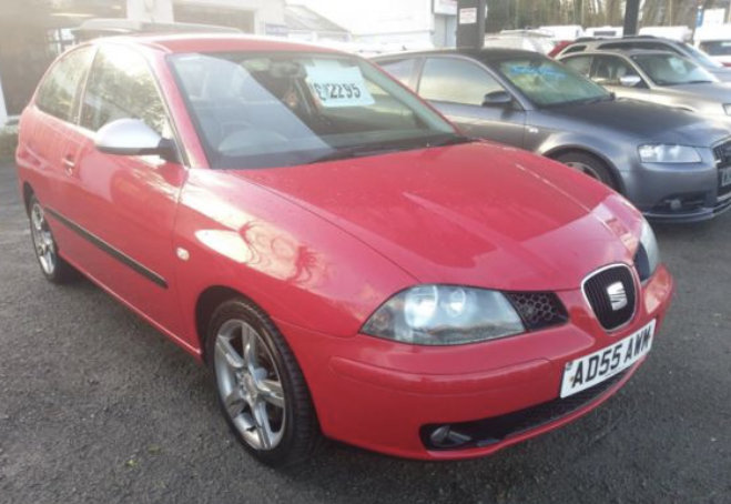2005 Seat Ibiza 1.8T FR 150bhp 3dr For Sale (picture 1 of 6)