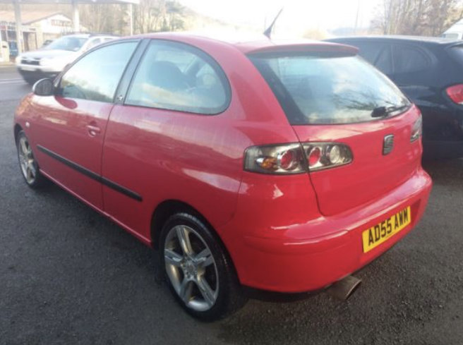 2005 Seat Ibiza 1.8T FR 150bhp 3dr For Sale (picture 3 of 6)