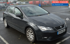 Seat Leon SE TSI - 61,420 Miles - Auction 25th