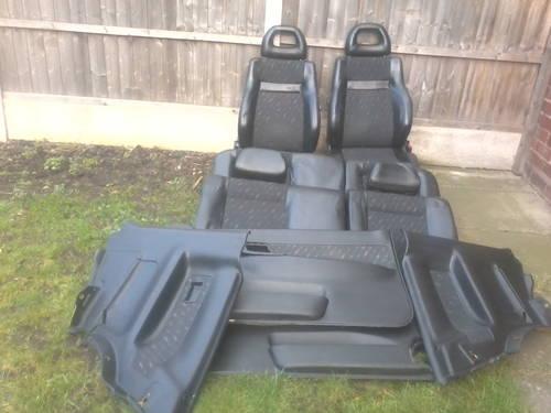MK1 SEAT CORDOBA SX COUPE HALF LEATHER INTERIOR For Sale (picture 1 of 6)