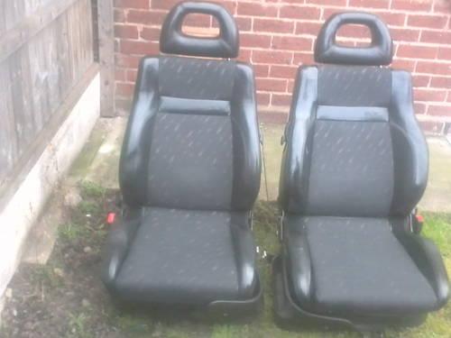 MK1 SEAT CORDOBA SX COUPE HALF LEATHER INTERIOR For Sale (picture 2 of 6)