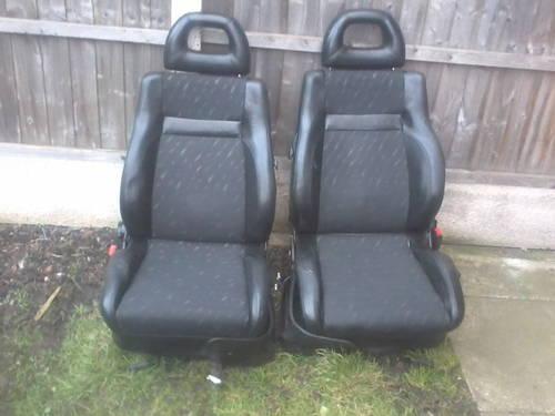 MK1 SEAT CORDOBA SX COUPE HALF LEATHER INTERIOR For Sale (picture 3 of 6)