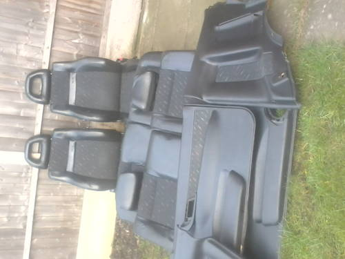 MK1 SEAT CORDOBA SX COUPE HALF LEATHER INTERIOR For Sale (picture 5 of 6)