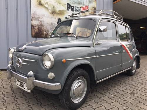 1964 RARE SEAT 800 TAXI BILBAO For Sale (picture 1 of 6)