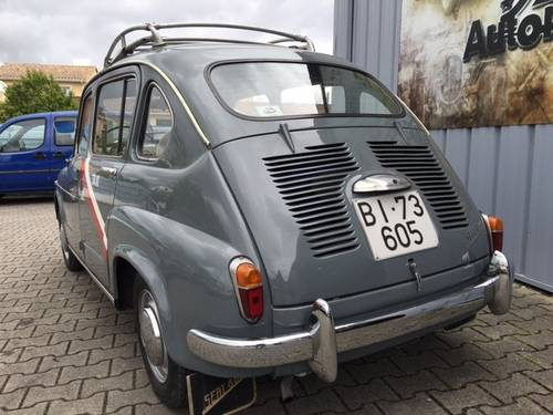1964 RARE SEAT 800 TAXI BILBAO For Sale (picture 6 of 6)