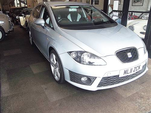 2011 SEAT LEON FR CR 2.0 TDi DIESEL 5 DOOR HATCHBACK 2011 SOLD (picture 2 of 2)