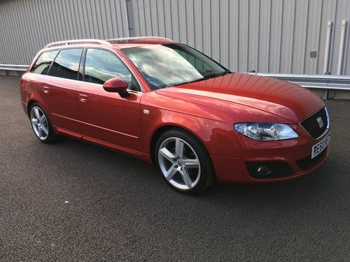 2010 60 SEAT EXEO 2.0 SPORT TECH CR TDI 141 BHP ESTATE SOLD (picture 1 of 6)