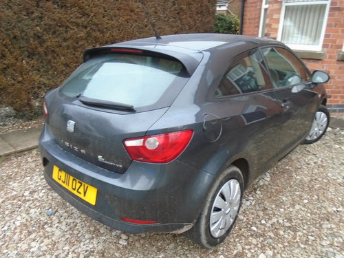 2011 11reg DIESEL 1200cc SEAT IBIZA 3 DOOR COUPE 167,00 GOS WELL For Sale (picture 2 of 6)