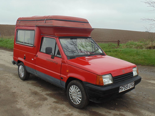 1991 Seat Terra Danbury Chico Campervan SOLD (picture 2 of 6)