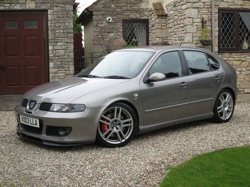 Seat Leon Cupra R >> 2003 Seat Leon Cupra R Pristine Condition Fsh 260 Bhp Sold
