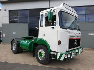 **OCTOBER ENTRY** 1985 Seddon Atkinson 301 Tractor Unit For Sale by Auction