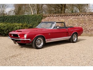 1968 Ford Mustang Shelby GT500KR Convertible Very rare and Factor