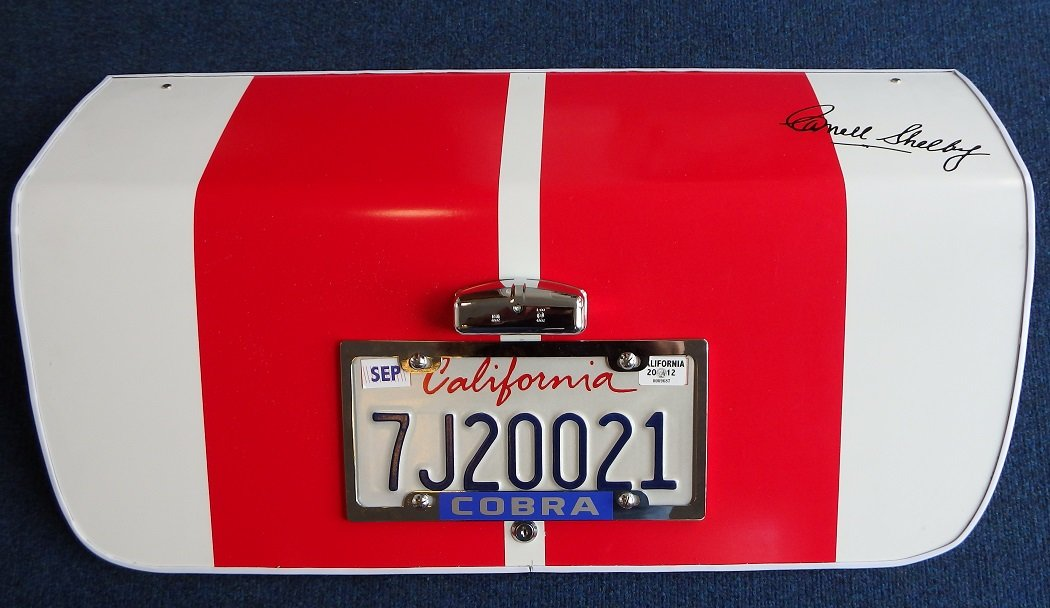 1966 66 White Shelby Cobra Replica Trunk Panel For Sale (picture 1 of 3)