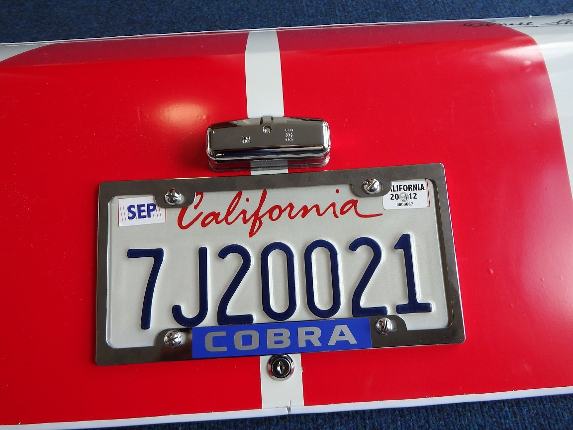 1966 66 White Shelby Cobra Replica Trunk Panel For Sale (picture 2 of 3)