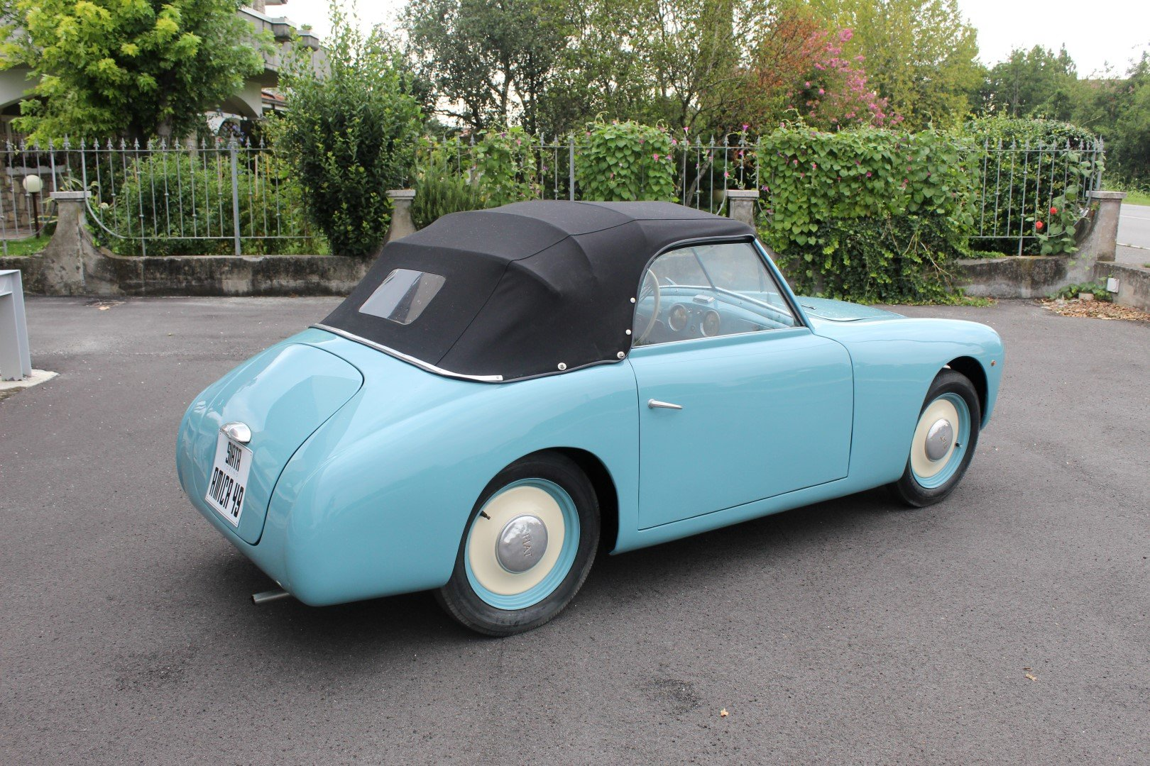 1949 Siata amica 49 - tubolar frame 1 of 14 ever made For Sale (picture 2 of 6)