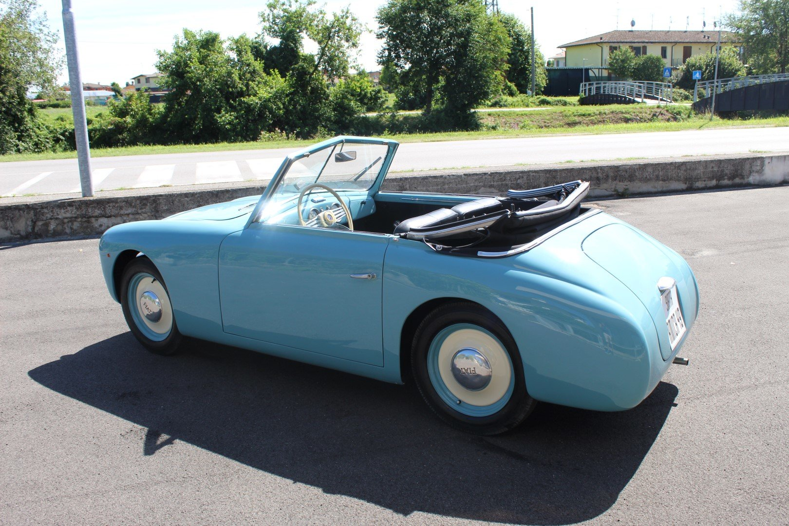 1949 Siata amica 49 - tubolar frame 1 of 14 ever made For Sale (picture 3 of 6)