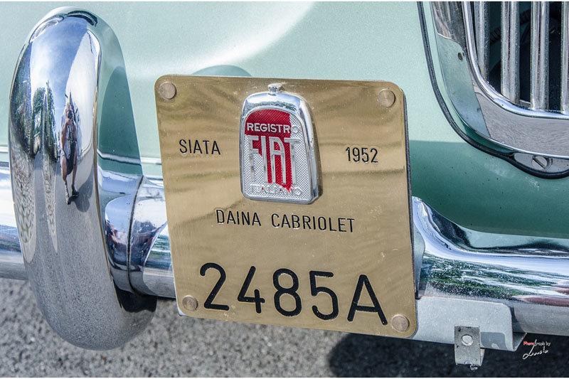 1952 Siata Daina Convertible Stabilimenti Farina For Sale (picture 11 of 20)