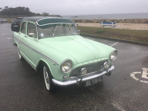1959 Stunning unique SIMCA P60 For Sale (picture 1 of 6)