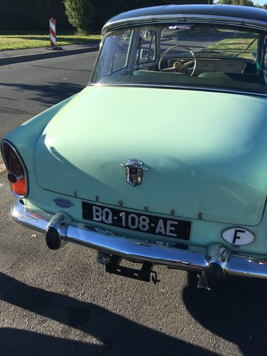 1959 Stunning unique SIMCA P60 For Sale (picture 5 of 6)