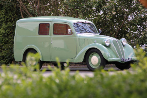 Simca 8 Fourgonette 1949 SOLD (picture 1 of 6)