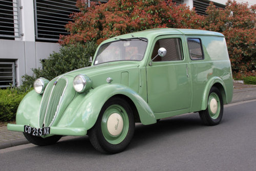 Simca 8 Fourgonette 1949 SOLD (picture 2 of 6)
