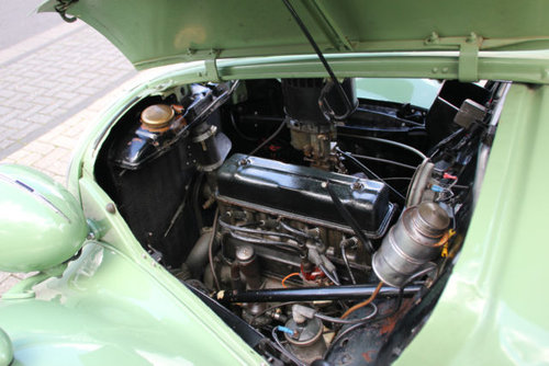 Simca 8 Fourgonette 1949 SOLD (picture 4 of 6)