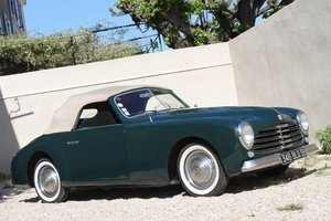 1950 Simca 8 Sport Cabriolet by Facel For Sale
