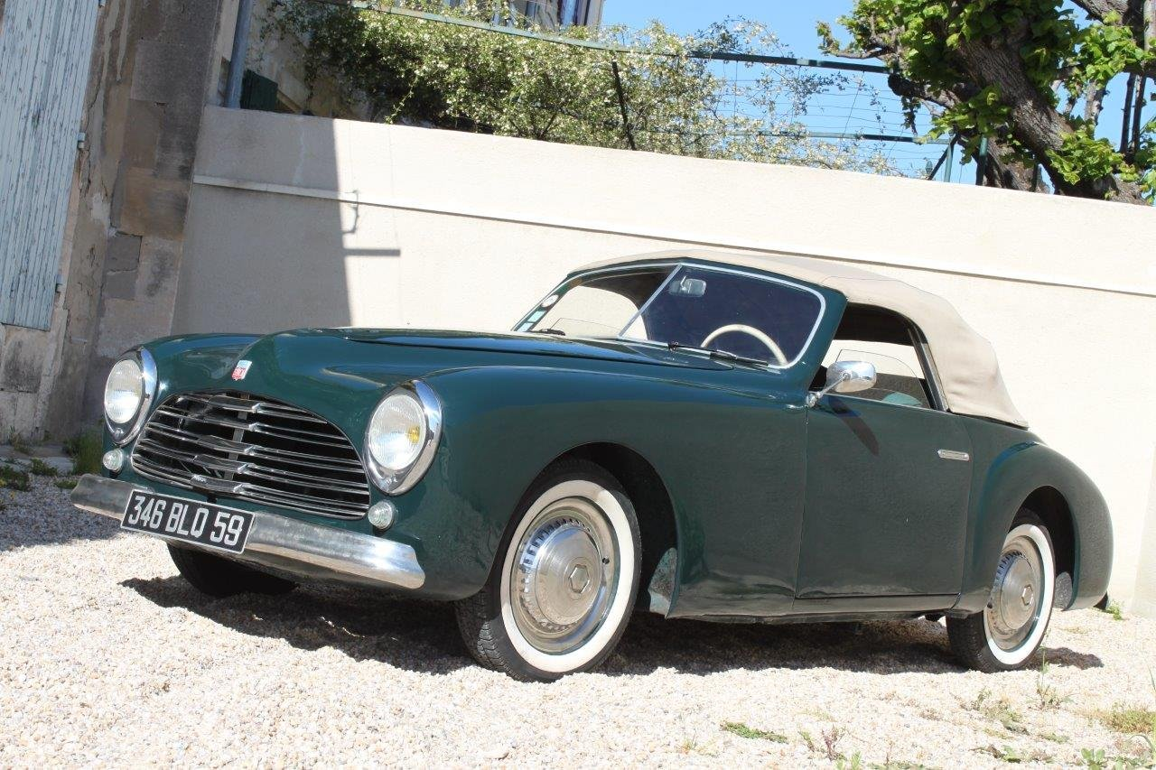 1950 Simca 8 Sport Cabriolet by Facel SOLD (picture 2 of 6)